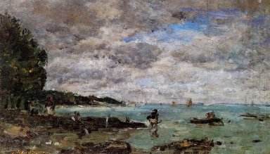 The Coastline At Plougastel 1869