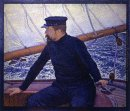 Paul Signac At The Helm Of Olympia 1896
