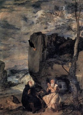 St Anthony The Abbot And St Paul The First Hermit