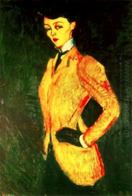 woman in yellow jacket amazon 1909