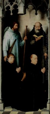 Triptych Of The Mystical Marriage Of St Catherine Of Alexandria