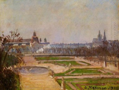 the tuileries and the louvre 1900