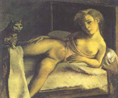 Girl On A Bed