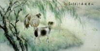 Sheep-Sanyangkaitai - Pintura Chinesa