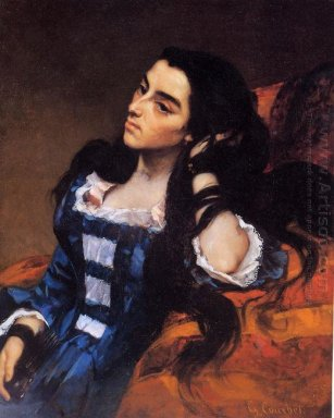 Portrait Of A Spanish Lady 1855