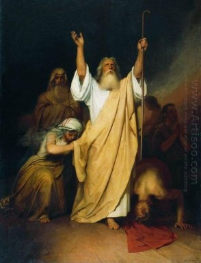 Prayer Of Moses After The Israelites Go Through The Black Sea 18