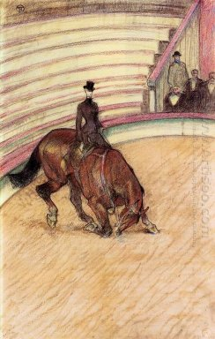 At The Circus Dressage 1899
