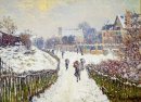 Boulevard Saint Denis Argenteuil Im Winter 1875