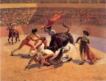 Bull Fight i Mexiko