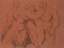 Group of Nude Figures