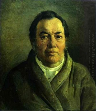 Portrait Of Nikolay O Ge Artist S Father