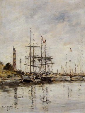 The Harbor At Deauville 1896