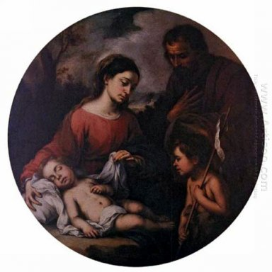 Holy Family With The Infant Saint John 1655