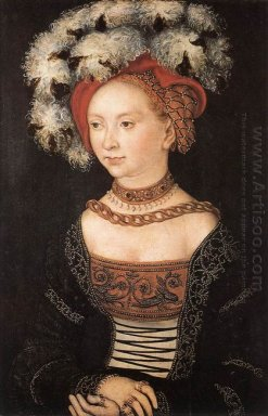 Portrait Of A Young Woman 1530