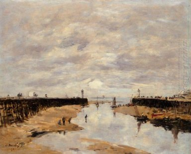 The Jetties Low Tide Trouville 1891