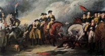 The Surrender of the Hessian troops at the Battle of Trenton