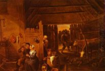 Flanders In a Peasant Cottage