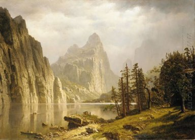 merced river yosemite valley 1866