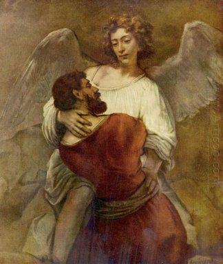 Jacob Wrestling With The Angel 1659