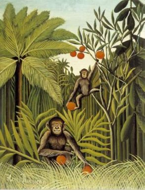 The Monkeys In The Jungle 1909