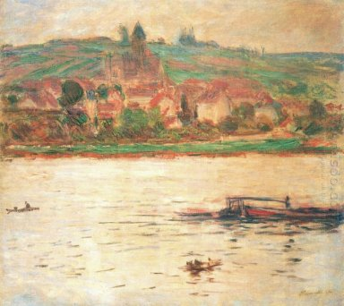 Vetheuil Barge On The Seine 1902