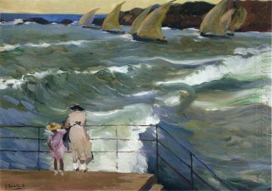 The Waves At San Sebastian 1915