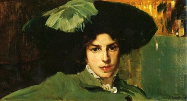 Maria With Hat 1910