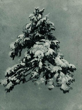 Pine In The Snow 1890