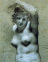 Bust Of Female Nude