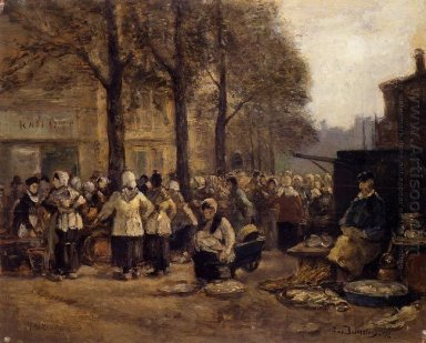 The Fish Market Rotterdam 1876