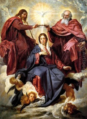 The Coronation of the Virgin 1645