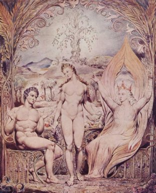 Archangel Raphael With Adam And Eve 1808