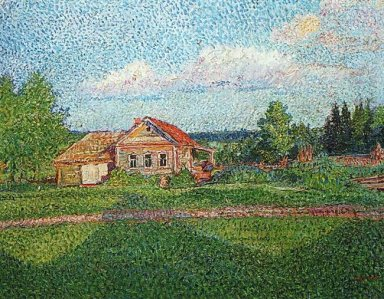 Landscape With A House 1