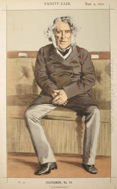 Statesmen No 920 Caricature Of The Rt Hon Russell Gurney