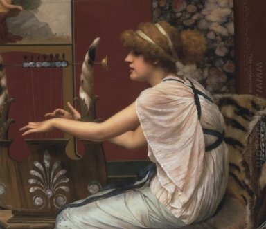 Erato At Her Lyre