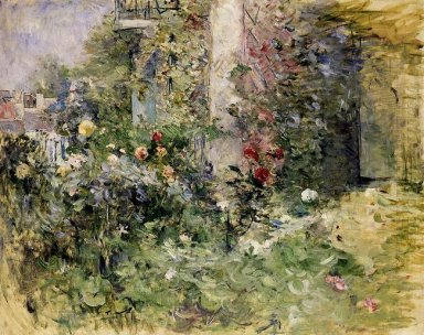 The Garden At Bougival 1884