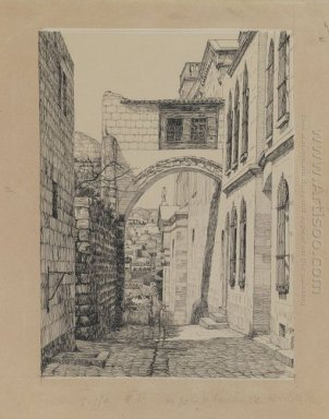 A Part Of The Ancient Arch Called Ecce Homo 1889