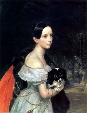 Portrait Of U M Smirnova 1840