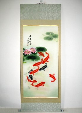 Fish - Mounted - Chinese Painting