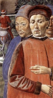 St Augustine Departing For Milan Detail 1465 2