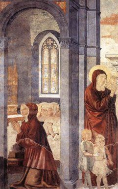 St Augustine Leaving His Mother 1465