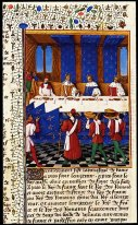 Banquet Given By Charles V 1338 80 In Hhonour Of His Uncle Emper