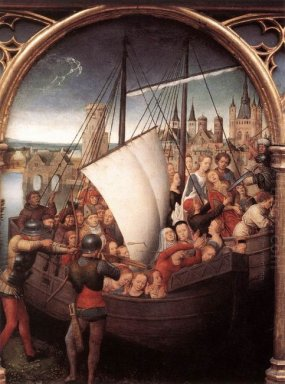 The Martyrdom Of Saint Ursula And Her Companions At Cologne From