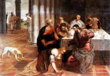 Christ In The House Of The Pharisee