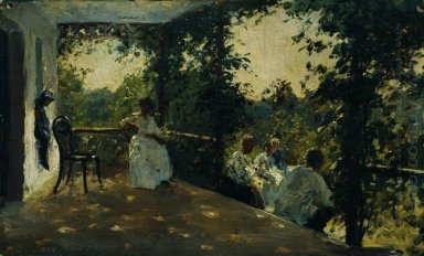 On The Terrace 1908