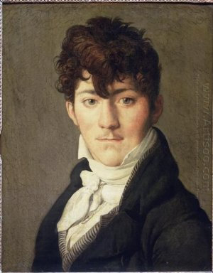 Portrait Of Auguste Francois Talma Ensign Nephew Of The Tragedia
