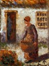 peasant woman with basket
