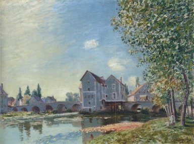 the pont at moret afternoon effect 1891
