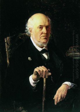 A Portrait Of E I Makovsky 1880