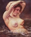 The Woman In The Waves The Bather 1868
